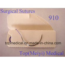Хирургический шов с иглами - Polyglactin 910 Плетеный шов