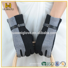 2015 Fashion Ladies cheap wool gloves