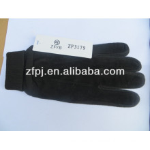 mens cheap pig leather working gloves