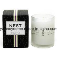 Nouvelles bougies décoratives de luxe de conception en tant que cadeaux de mariage