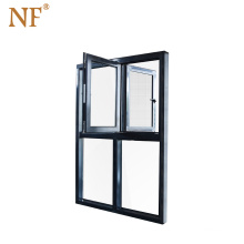 Thermal Break Aluminum Tilt And Turn Window Frame