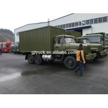 Motor de 190Hp CUMMINS Camión de Dongfeng 6X6 para la carga pesada con la tienda y la barra