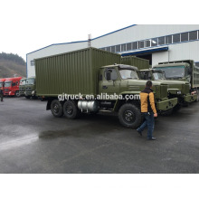 190Hp Cummins engine Dongfeng 6X6 truck for heavy duty loading with tent and rod