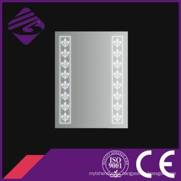 Jnh264 Bathroom LED Light Espejo enorme para muebles con pantalla táctil