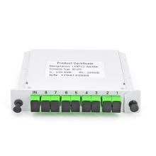 Excelente Qualidade 1x8 SC / APC Cassete tipo PLC Divisor