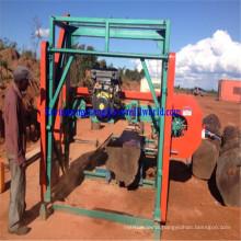 Portable Horizontal Log Cutting Band Saw Mj1600d Diesel Bandsaw Sawmill