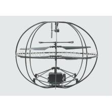 NOVA chegada 3CH RC Flying UFO Ball com câmera, gravação de vídeo rc helicóptero bola