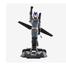 HCW550 4 Kanal 2.4Ghz Fernsteuerungs RC Fliegender Batman Hubschrauber