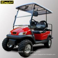 3-4 Sièges et Electri Fuel Type buggy électrique / chariot de golf à vendre