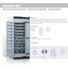 Wecome mns low voltage switchgear power distribution unit