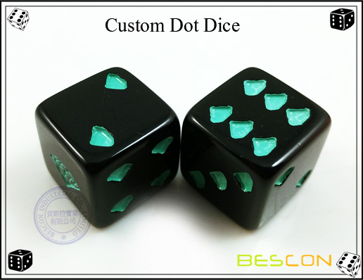 Custom Dot Dice