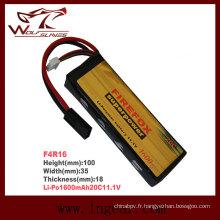 Firefox-1600mAh 11.1V 20C Ln-Cl11130 Plus de batterie