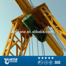 China Rail Mounted Single Girder 5Ton Gantry Crane Design