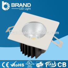 High Lumen 100lm / w Downlight à rétrofit carré, 12W Square LED Downlight