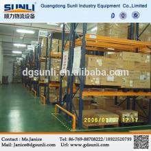 Venda quente fornecedor de Dongguan armazém armazenamento aço porta palete
