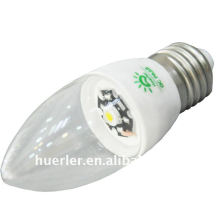 E27 e14 3 * 1w led led light candle