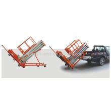 Plataforma de elevación inclinable de aleación de aluminio (solo mástil)