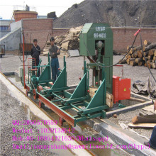 Electric Powered Vertical Timber Cutting Band Saw Machine