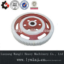 Forged Ring and Casted Hub Hot Assembly Spur Gear Wheel for Gearbox