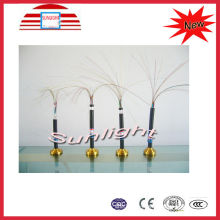 Pvc Sheathed Outdoor Armored Fiber Optic Cable Wire For Telecommunication