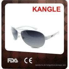 UV400 polarisierte Sonnenbrille mit Metallrahmen