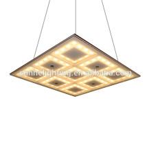 Led Кристаллический потолок квадратный светодиодный потолочный светильник квадратный подвесной светильник для комнаты