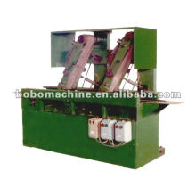 Automatic edge polishing machine for stainless steel spoon