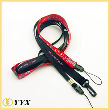 Customized heat transfer printing lanyards for sale