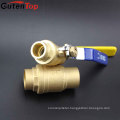 Gutentop PN16 Lever Handle Forged Welding Connect Brass Ball Valve For WOG