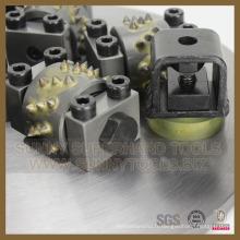 Marteau de broche rotatoire de plancher de béton de meulage de diamant