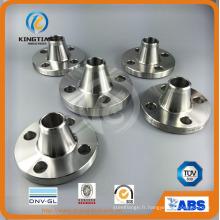 Brides de tuyau d'acier inoxydable de la norme ANSI B16.5 Wp304 / 316 Class150 RF / FF (KT0370)