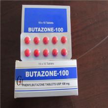 Comprimidos de fenilbutazona 100mg