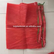 Bolsa de malla de embalaje vegetal y malla tubular PP y bolsa tejida