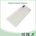 White Color Ultra-Thin Mini Wireless Keyboard