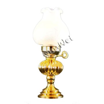 Factory Outlets for Dollhouse Miniature Lamp Table Dollhouse table lamp with white shade in vintage export to India Factories