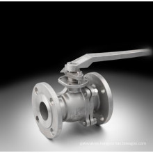 ANSI Lever Flanged Stainless Steel Ball Valve