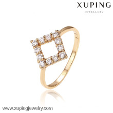12503-Xuping Fashion Stylish Lady Party Square Shape Rings
