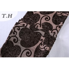 Jacquard Flocking Fabric by Cheaper Price
