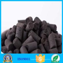 Eliminación de azufre de carbón activado en columnas