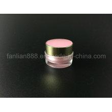 Акриловая круглая кружка для косметической упаковки / бутылочек для пробы