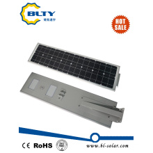50W Integrated LED Street Light with Solar Panel