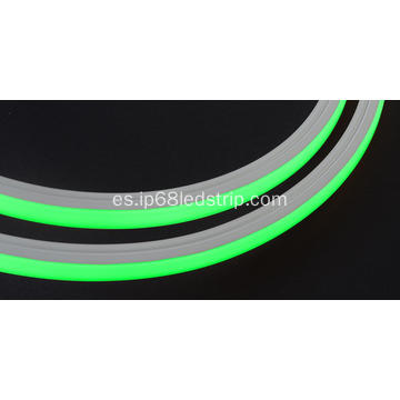 Evenstrip IP68 Dotless 1214 RGB Top Bend llevó la luz de tira