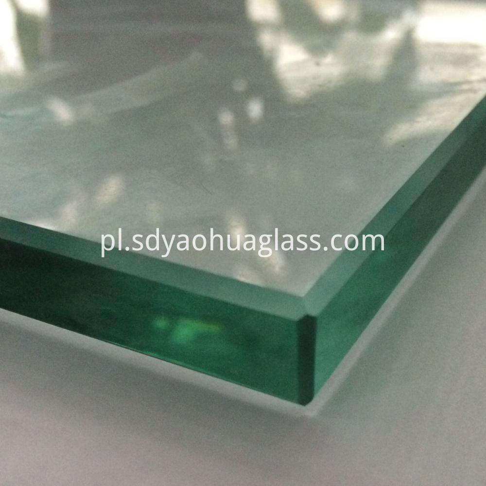 Tipped Corner Toughened Glass