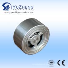 Válvula de retenção de aço inoxidável H71 Wafer