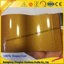 Aluminum Extrusion Profile for Electrophoresis Surface Crystal Electrophoresis Profile