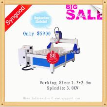 Roteador do CNC de Syngood SG1325-3D CNC que cinzela o roteador da madeira