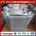China-Lieferanten direkt Fabrikteller Finne Aluminium Wasser zu Luftkühler