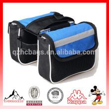 bolso de bicicleta accesorios de bicicleta de bicicleta paquete de sillín de bicicleta paquete de bicicleta de montaña doble bolsa