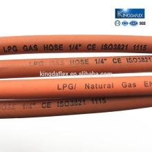 Glatter Oberflächen-Gummi-industrieller schweißender LPG-Schlauch