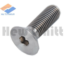 titanium countersunk head bolt with torx